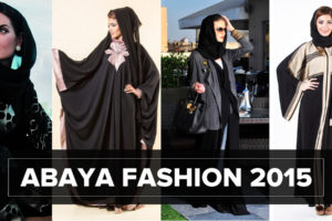 Abaya Fashion 300x200 - Women in black: Abaya Fashion