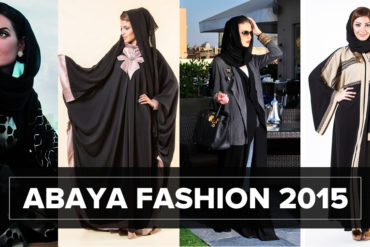 Abaya Fashion 370x247 - Women in black: Abaya Fashion