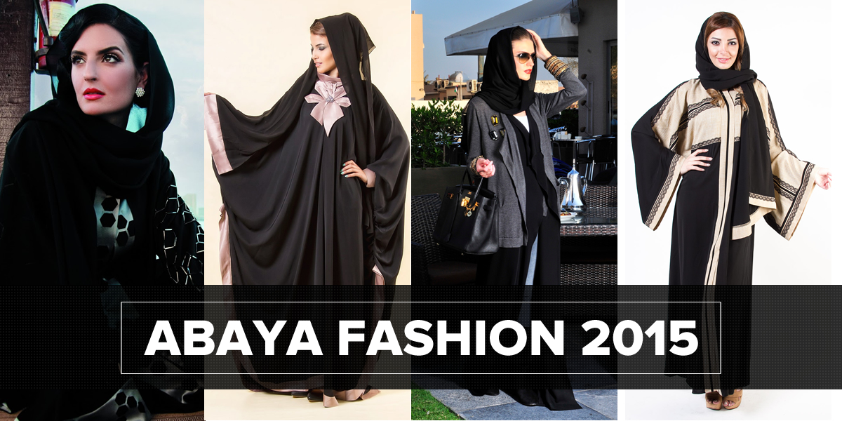 Abaya Fashion - Women in black: Abaya Fashion