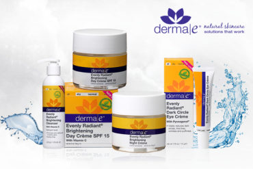 Dermae 21 370x247 - Derma e reveals the secret to radiant skin with its new Brightening Range Collection