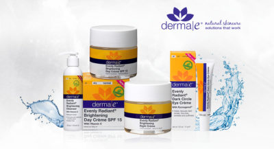 Dermae 21 400x217 - Derma e reveals the secret to radiant skin with its new Brightening Range Collection