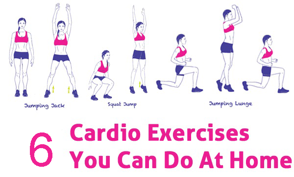 Fitness with Top 6 Home Cardio Exercises
