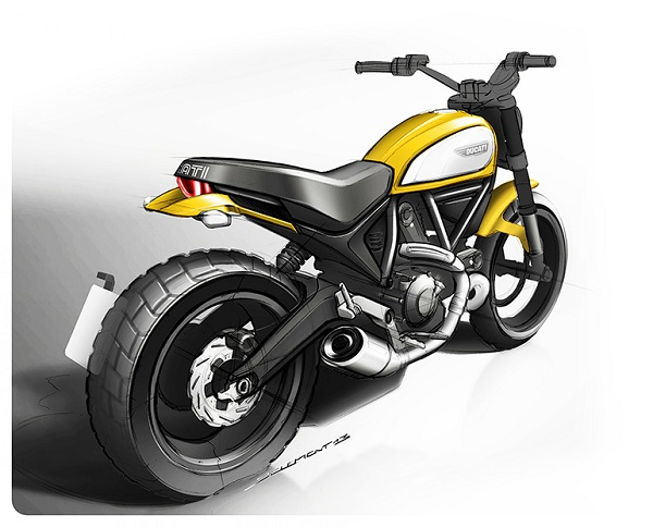 2015 Ducati Scrambler Icon Design-YesGulf