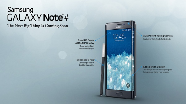 Features of Samsung Galaxy Note 4-YesGulf