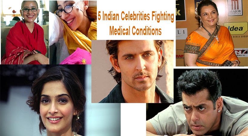 5 Indian Celebrities Fighting Medical Conditions-YesGulf