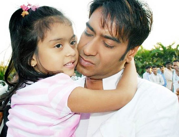Bollywood Star Ajay Devgan kids-YesGulf