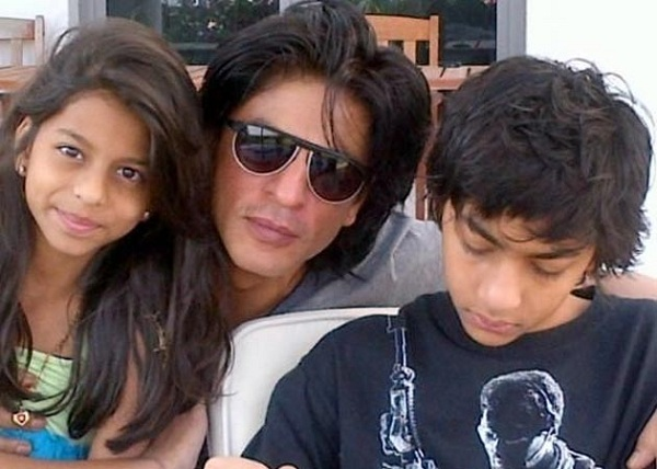 Bollywood Star Shah Rukh Khan kids-YesGulf