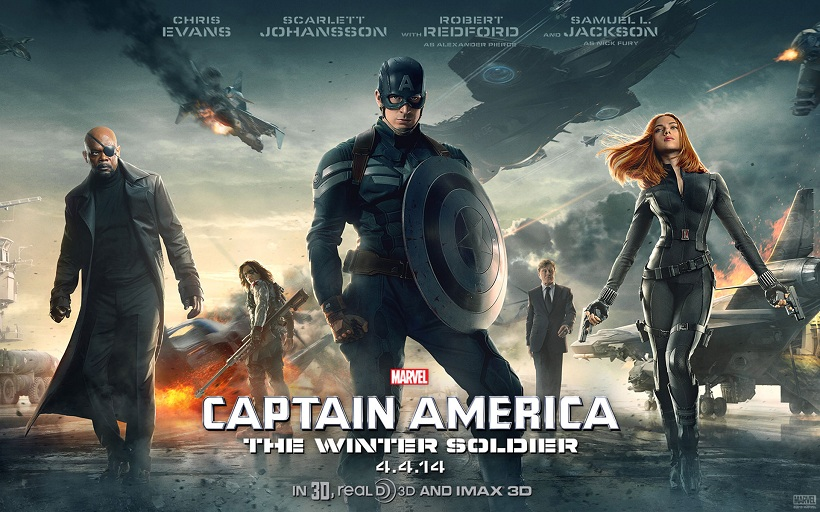 Captain America (The Winter Soldier) Movie-YesGulf