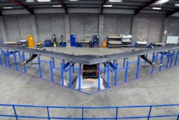 f1 370x247 - Drone Built By Facebook for Internet Access