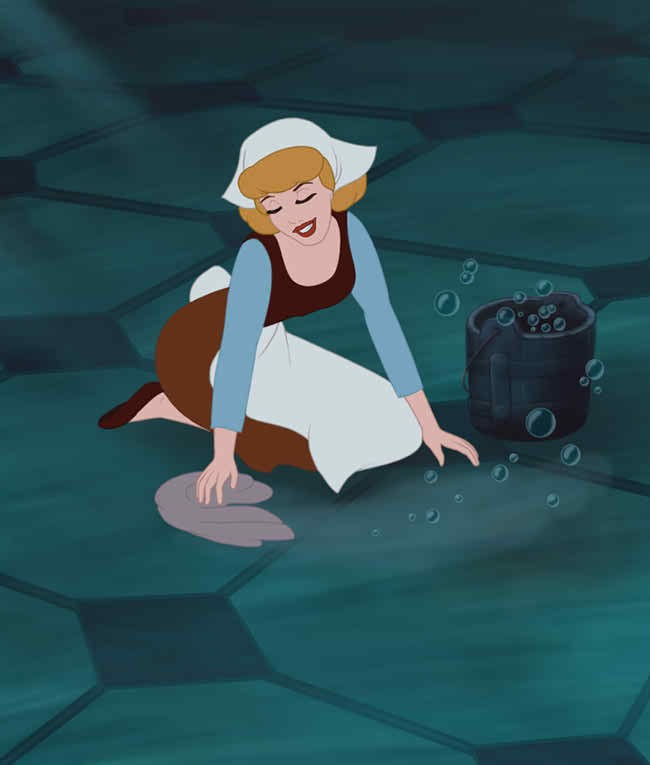 importance of never giving up taught in Cinderella Disney movies-YesGulf