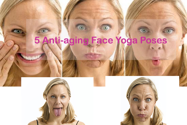 5 Anti-aging Face Yoga Poses-beauty tips for face-YesGulf