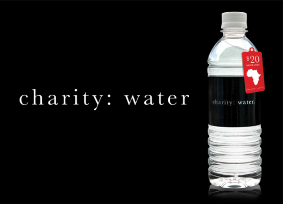 Unique Charity-Water Bottle Charity