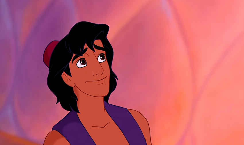 What lies inside is more important by Aladdin in Disney movies-YesGulf