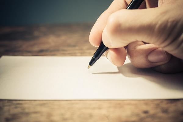 Hand Writing-healthy living-YesGulf