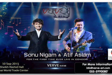 Sonu Nigam and Atif Aslam, live performing and concert in Dubai-YesGulf