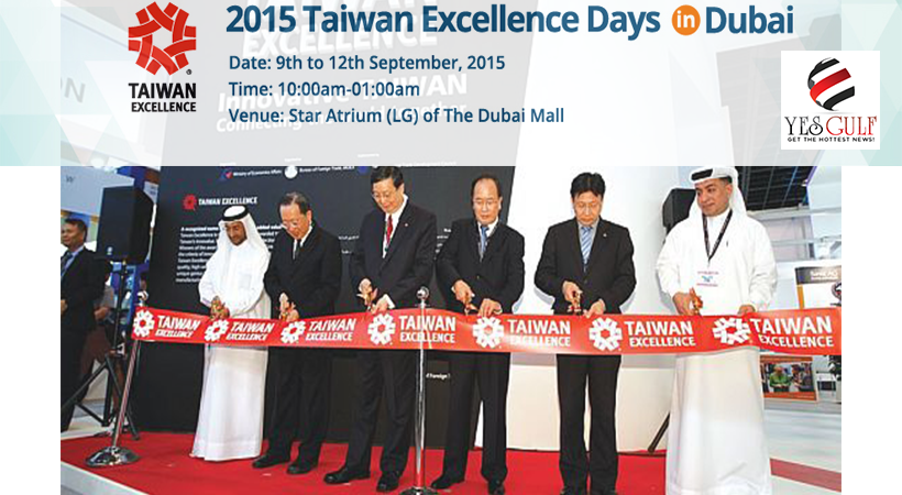 Taiwan Excellence Days to Revisit Dubai with 2nd Edition-YesGulf