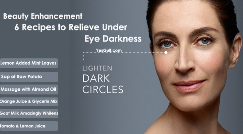 Beauty Enhancement-6 Recipes to Relieve Under-Eye Darkness
