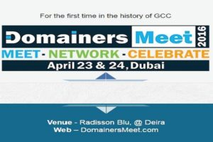 Domainers Meet 2016 feature image 300x200 - Domainers Meet Conference 2016, Dubai