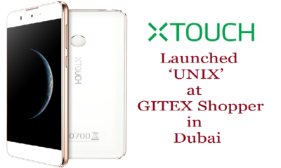 XTOUCH UNIX front back 400x239 - XTOUCH Launched 4G LTE Smartphone at GITEX Shopper
