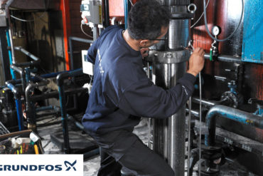 Pump inspection Grundfos 1 370x247 - Grundfos to Embark on a Drive for Waste Management & Recycling Its Pumps