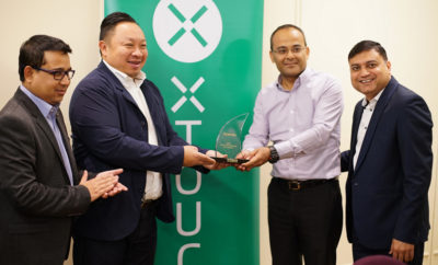 XTOUCH awarding Redington the Best Strategic Partner for the year 2016. 400x242 - XTOUCH Facilitates Redington for Their Outstanding Contribution