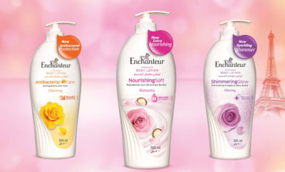 Enchanteur New Functional Body Lotions Range 400x242 - Discover the Secret to Soft Radiant Skin with Enchanteur's Latest Range of Fragrant Body Lotions