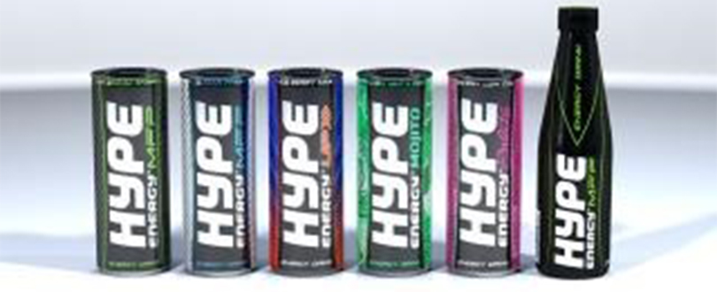 Hype Energy drinks - Hype Energy Drinks Eye Growth and Expansion in Middle East & Asia in 2017