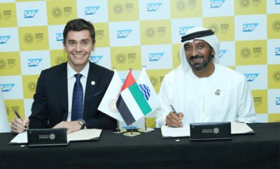 SAP signs up as Expo 2020 Dubai s Innovative Enterprise Software Partner 400x242 - Expo 2020 Dubai Partners with SAP to Create 'Made-For-You' Experience for Millions of Visitors