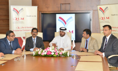 Deputy Group president CEO QIC MENA region Mr 400x242 - Another First by QLM – Access to Healthcare Services through Valid Qatar ID