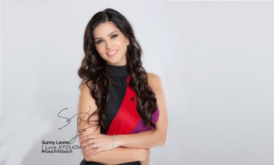 Untitled 1 9 400x242 - XTOUCH Mobiles Signed Sunny Leone as its Brand Ambassador