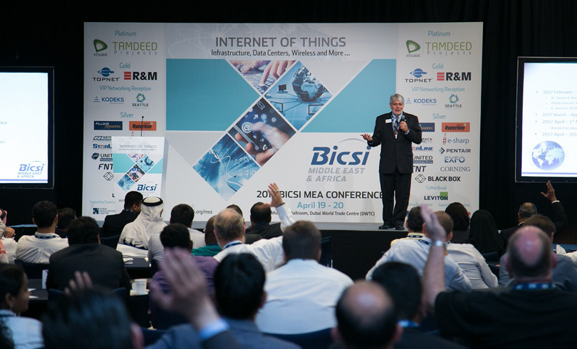 Paul Weintraub Vice President of Global Development Support BICSI - BICSI MEA Conference & Exhibition 2017 Highlights Innovation and  Best Practices in ICT