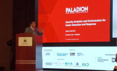 Rajesh Gopinath Pre Sales Head for MEA at Paladion 400x242 - Paladion underlines the importance of security analytics for faster detection and response to cyber attacks