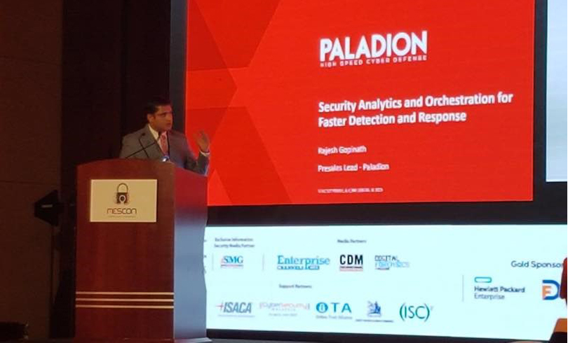 Rajesh Gopinath Pre Sales Head for MEA at Paladion - Paladion underlines the importance of security analytics for faster detection and response to cyber attacks