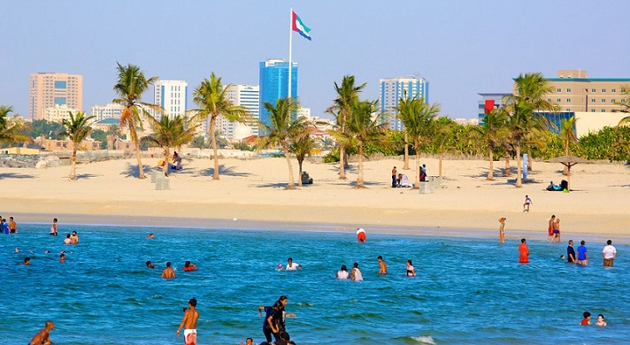 mazmar beach in dubai