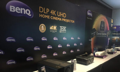 1stpr 400x242 - BenQ Unveils The First DLP 4K UHD LED Home Cinema Projector, Taking Home Entertainment To The Next Level