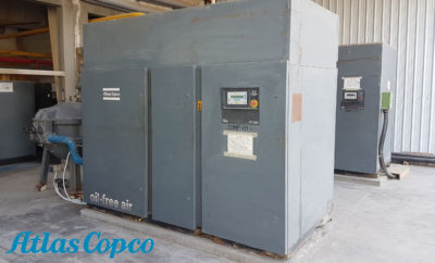 20 years old Atlas Copco oil free air compressors and dryers in ORTA Textiles factory 400x242 - Atlas Copco Oil Free Air Compressors Perform Uninterrupted for 20 Years at ORTA Textiles