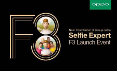 The New OPPO F3 Smartphone with Dual Front Selfie Camera 3 400x242 - OPPO Launches F3, the latest 'Group Selfie' Expert with Dual Front Selfie Camera