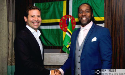 from left to right Mimoun Assraoui and Ian Sugar George Edwards 400x242 - A New Merger on the Market of Citizenship by Investment