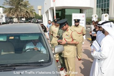 traffic fines in Dubai
