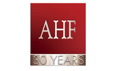 AHF 30th Logo 1499958090 400x242 - AHF Pays Tribute to a Courageous Advocate from South Africa - Prudence Mabele