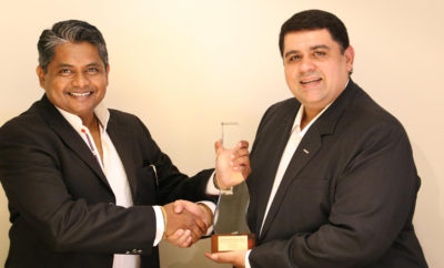 Aman Roy GM at Watermark Marketing Management Mohit Ahuja GM at Wanzl Middle East 400x242 - Watermark Marketing Management Dubai Wins Gold at the  2017 Summit Creative Award