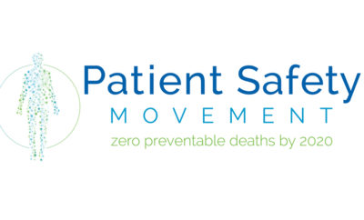 Patient Safety Movement logo tag HQ JPG 1500040401 400x242 - PSMF Convenes the International Patient Safety Community for its 2017 Midyear Planning Meeting at Inova Center for Personalized Health