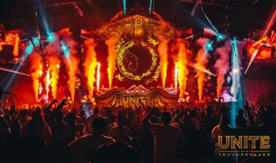 UNITE with Tomorrowland in Dubai entertained audiences at Festival City Arena 400x237 - The first-ever UNITE with Tomorrowland sets temperatures soaring in Dubai!