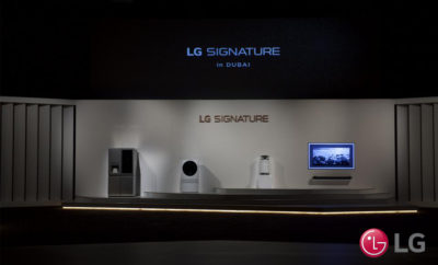 "LG SIGNATURE products unveiled at the GCC gala launch in Dubai Opera 400x242 - LG's First Ultra-Premium Brand ""LG SIGNATURE"" Debuts Across the GCC"