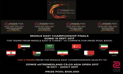 wwq11 400x242 - ZOWIE eXTREMESLAND CS: GO Asia Open 2017 Gaming Competition is back!