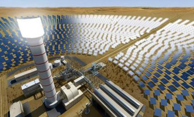 DEWA project will have the world s tallest solar tower measuring 260 metres 400x242 - DEWA awards AED14.2 billion largest CSP project in the world with a record bid of USD 7.3 cents per kW/h to generate 700MW