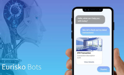 Eurisko Mobility adds AI Bots to its Digital Experience Platform for Banks Financial Institutions 400x242 - Eurisko Mobility Adds AI Bots to its Digital Experience Platform for Banks & Financial Institutions