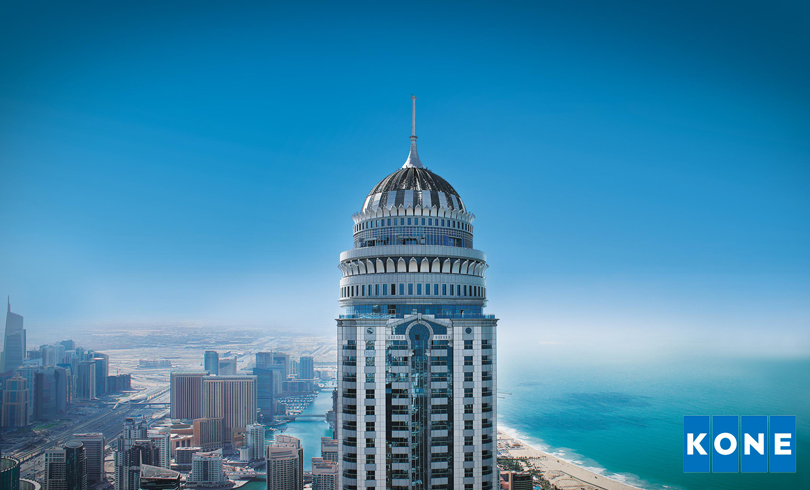 Princess Tower one of KONEs iconic references - KONE Middle East and North Africa announces Social Media Competition