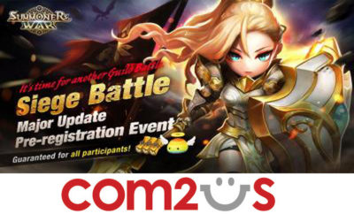 """1222 400x242 - Summoners War"""" holds a pre-registration event for the Guild Siege Battle Update"""