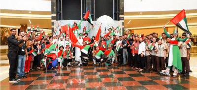 Photo 3 AETOSWire 1510477834 400x183 - Dalma Mall Joins Hands with Abu Dhabi Police for UAE Flag Day Celebrations